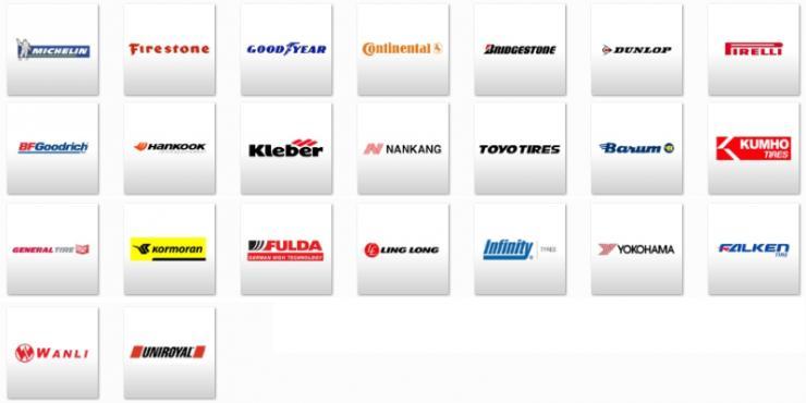 Disponemos de una amplia gama de neumáticos de todas las marcas